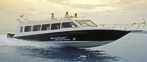 BlueWater Express III, the pride of Bluewater Safaris fleet
